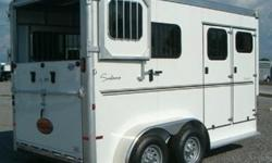 q 2013 Sundowner 2 Horse Trailer Model Charter