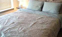 Queen Bed Set with Mattress, Spring, Headboard, and Frame