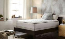 Queen Sealy Posturepedic Encore Extraplush Mattress and Box