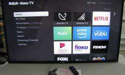"RCA 50"" Inch Roku Smart TV (Firm Price) (2017 Model)"