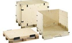Reusable Wooden Crates