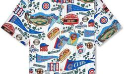 Reyn Spooner Chicago Cubs Hawaiian Shirt