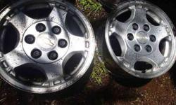 Rims*Mercedes/Chevy/Nissan~3sets of 4 (Oahu)