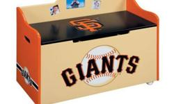 S.F. GIANTS TOY CHEST * New In Box