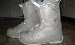 Salomon Size 9 Snowboarding Shoes