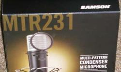 Samson MTR231 Professional Microphone
