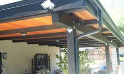 Seamless Rain Gutters Repairs, New Installations and Clean