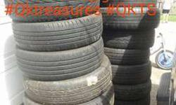 Sets-Pairs Used Tires For Sale Many Sizes Avl-PU Oakbrook