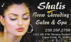 Shalis Brow Threading Salon & Spa