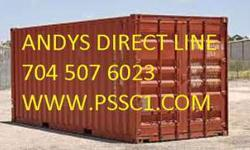 Shipping Containers Storage Containers 20 and 40 Ft