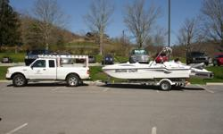 Shuttle Craft & Sea Doo Jet Ski with Sundeck & Fishing Seats