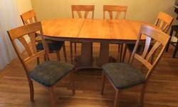 Solid Wood Contemporary Dining Set