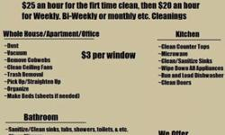 Spectacular Woman's Cleaning Service