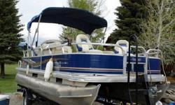 *~sq8A*~ 2012 Tracker Fishing Barge DLX 20 ~HFDF.8*