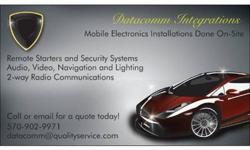 Stereos, Tint, Alarms, Remote Start and more!! WE COME TO