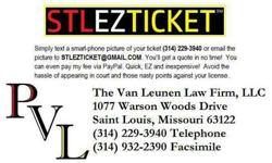 #STLEZTICKET Got a Traffic Ticket in the Greater Saint Louis