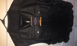 Street And Steel Anarchy Leather Vest ( Size large and XL )