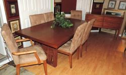 Stunning Dining Room Set by Baer's Furniture