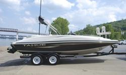 Tahoe 215 Fish Deck edition deck boat