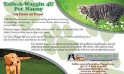 Tails-a-Waggin 4U Dog Walker, Pet Sitter, Dog Runner Buffalo