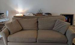Tan Sofa - great condition! (used)