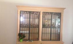 $200 Vintage Shabby Chic Cupboard/ Kitchen Hutch/ Pantry ...
