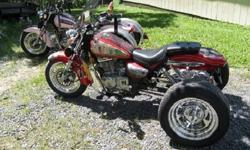 """""""Two 2000 Suzuki Gz-250 Trikes""""""""-"