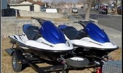 ³Two 2006 Kawasaki STX-12F Jet-Skis with Trailer³