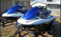 ? Two 2006 Kawasaki STX-12F Jet-Skis with Trailer?