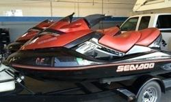TWO 2007 Sea-Doo RXT Jet Ski