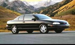 Used 1995 Chevrolet Monte Carlo 2dr Coupe