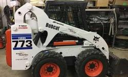 Used 2001 Bobcat 773 Turbo Skid Steer Loader
