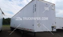 ** Used 2001 UTILITY Dry Van Trailer FOR SALE