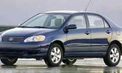 Used 2003 Toyota Corolla Sedan