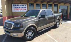 Used 2005 Ford F150 SuperCrew Cab for sale