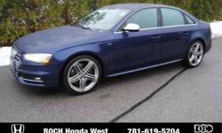 Used 2013 Audi S4 4dr Sdn S Tronic