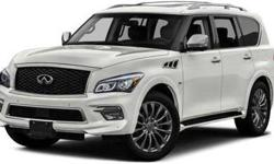 Used 2016 INFINITI QX80 2WD 4dr