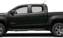 Used 2018 Chevrolet Colorado Crew Cab Pickup