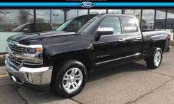 Used 2018 Chevrolet Silverado 1500 4WD Double Cab 143.5