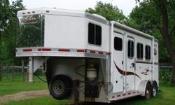 v2006 Lakota 3 Horse Trailer