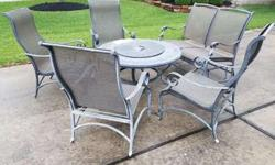 Very comfortable patio furniture