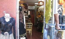 Vintage clothing, shoes, boots and hats