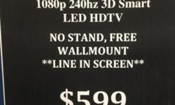 VIZIO M601d-A3R 60-Inch 1080p 240hz 3D Smart LED HDTV w/
