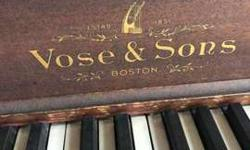 Vose & Sons Piano to a good home