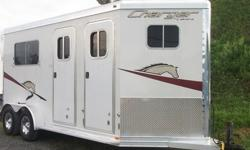 vv2009Lakota Charger 2 Horse Trailer Straight Load