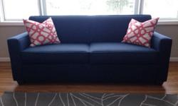 West Elm Modern Collection Couch and Love Seat