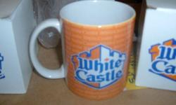 White Castle Coffee Mugs new in the box (Norman)