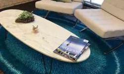 White Marble Oval Shaped Coffee Table