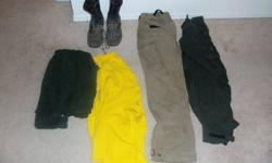 wildland firefighter clothing and boots (west rapid)
