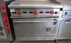 Wolf Combo Griddle Oven